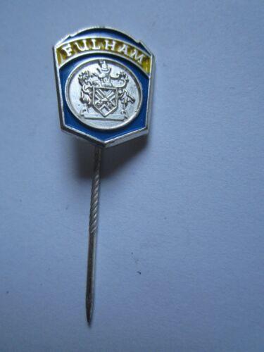 FC Fulham Anstecknadel Pin aus Sammlung vermutlich um 1975