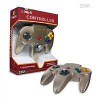 Zelda Gold Cirka Controller Control Pad Gamepad For N64 Nintendo 64