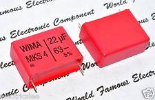 1pcs - WIMA MKS4 22uF (22µF) 63V 5% pitch:27.5mm Capacitor MKS4C052206D00JSSD
