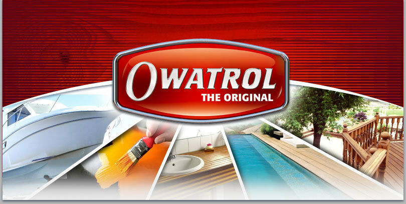 -22 55 L   Owatrol D1 Holzschutz Tiefenimprägnierung Deks Olje Stiefelöl