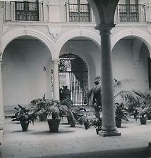 ESPAGNE c. 1950 - Le Patio de la Casa Consistorial  Malaga - Div 10275