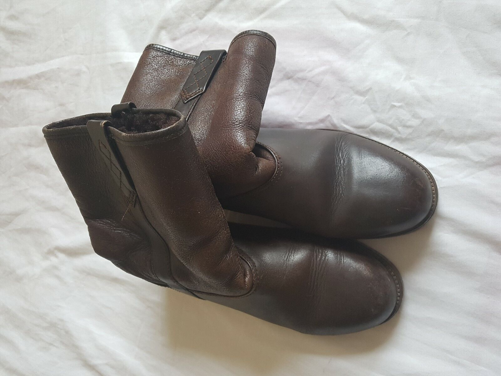 MENS UNBRANDED BROWN BOOTS SIZE 8