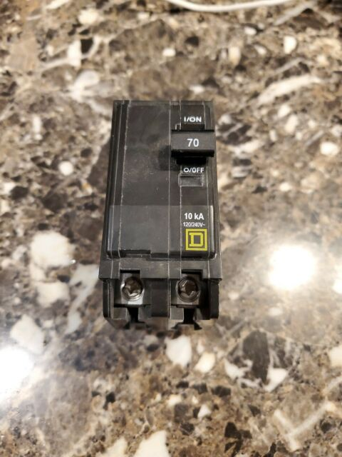 NEW Square D QO270 Two Pole 70 Amp 120//240 Volts QO Breaker Plug in Fits NQOD