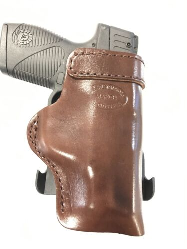 Leather Kydex Paddle Gun Holster LH RH For Glock 29 30