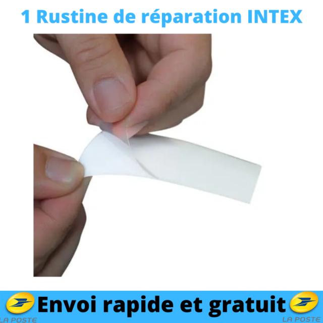 Patch Rustine Piscine de Réparation Matelas Bouée Gonflable Trouée Perforée X1