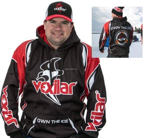 NEW Vexilar Own the Ice Jersey Hoodie M VXWOTI-2