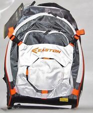 EASTON WALK OFF 2 BAT PACK BAG BACKPACK A163210 BASEBALL SOFTBALL WHITE/ORANGE