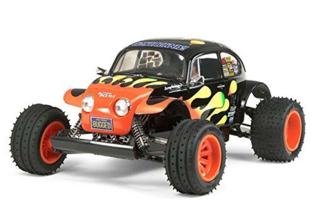 Tamiya 1/10 Eléctrico Coche RC Serie N º 502 Blitzer Escarabajo (2011) Off-Road