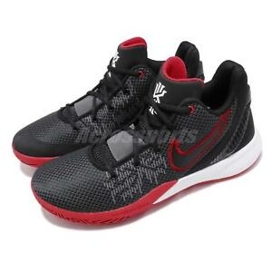 c32c650253f5 Nike Kyrie Flytrap II EP Irving 2 Black Red Bred Mens Basketball ...