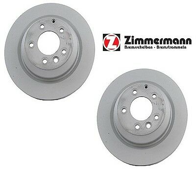 For Porsche Cayenne 355 X 28 mm Pair Set of 2 Rear Disc Brake Rotors OPparts