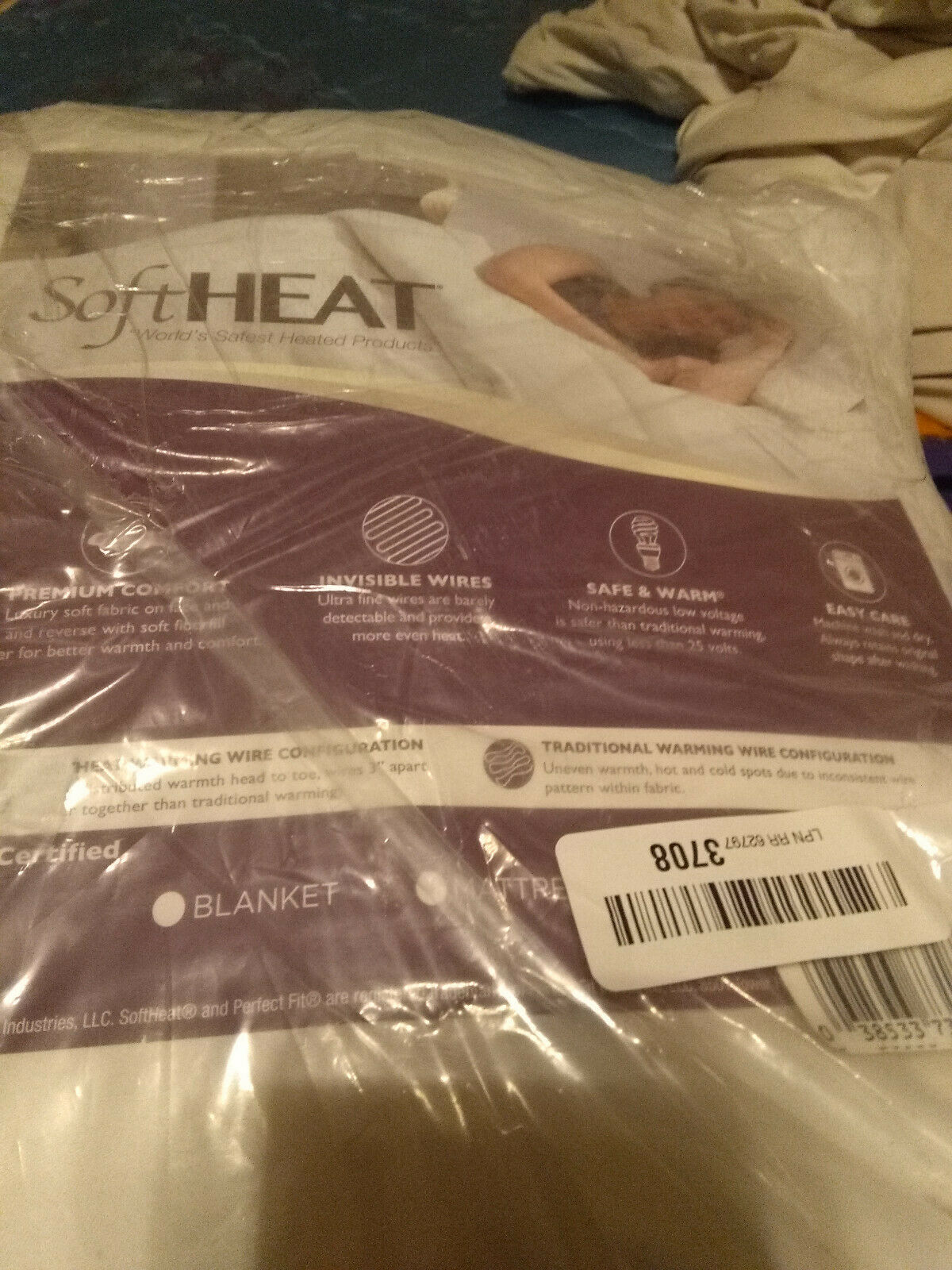 Perfect Fit SoftHeat Smart Heated Heated Heated Electric Mattress Pad with Safe & Warm Low 233 751608