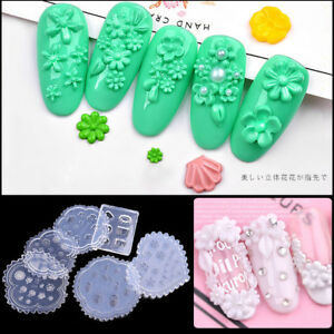 1pc-3d-Acrylic-Powder-Sculpture-Mold-Silicone-Nail-Art-Flower-Template-Manicure