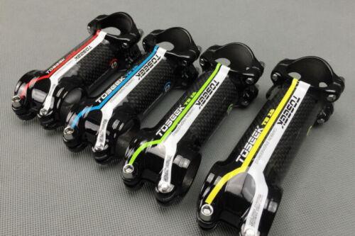 7° 31.8*60//70//80//90//100//110mm Carbon Fiber 3K MTB Road Bike Stems Handlebar Stem