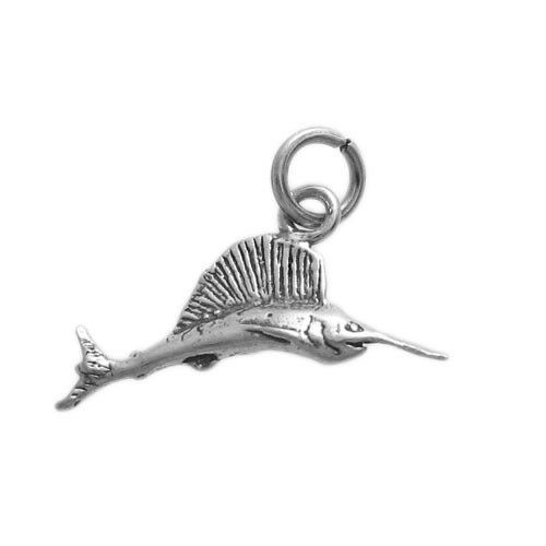 Vintage Silver Swordfish Charm