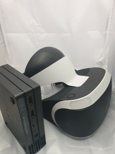 PSVR V2 PS4 VR Headset and Cables