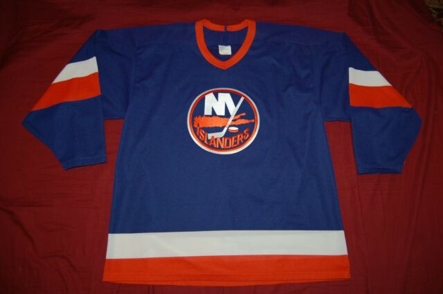 731188f5a VTG JERSEY CCM NEW YORK ISLANDERS L MEN NHL SEWN HOCKEY 90S ...