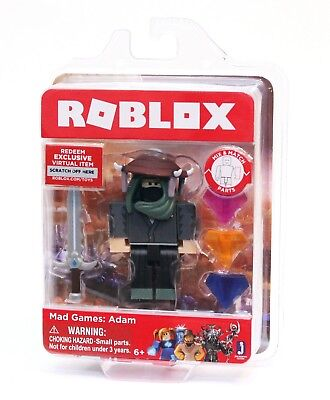 Roblox Character Mad Roblox Mix Match Mad Games Adam Includes One Figure Virtual Code New 681326107941 Ebay