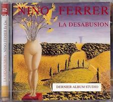 NINO FERRER - LA DESABUSION / LA VIE CHEZ LES AUTOMOBILES  2 CD  2002  BARCLAY