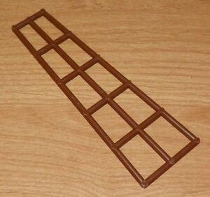 LEGO 16 x 5 BROWN SHORT BOAT MAST RIGGING PART 6057 x 1