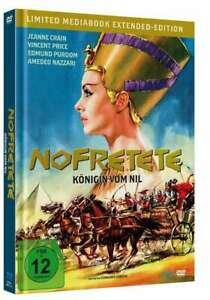 Nefertiti-Regina del Nilo-Extended [Blu-Ray + DVD MediaBook/Nuovo/Scatola Originale]