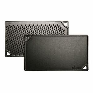 Lodge - Logic Cast Iron Double Burner Grid/Iron Griddle (Made in the U.S.A)