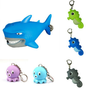 NE-Lighted-Octopus-Shark-Sea-Horse-Phone-Car-Keychain-Pendant-Handbag-Gift-Welc