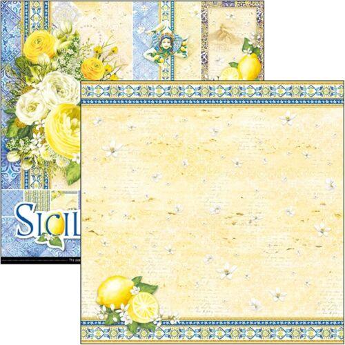 Sicilia Ciao Bella papeles paquete de papel de 12 X 12-Nuevo Lanzamiento