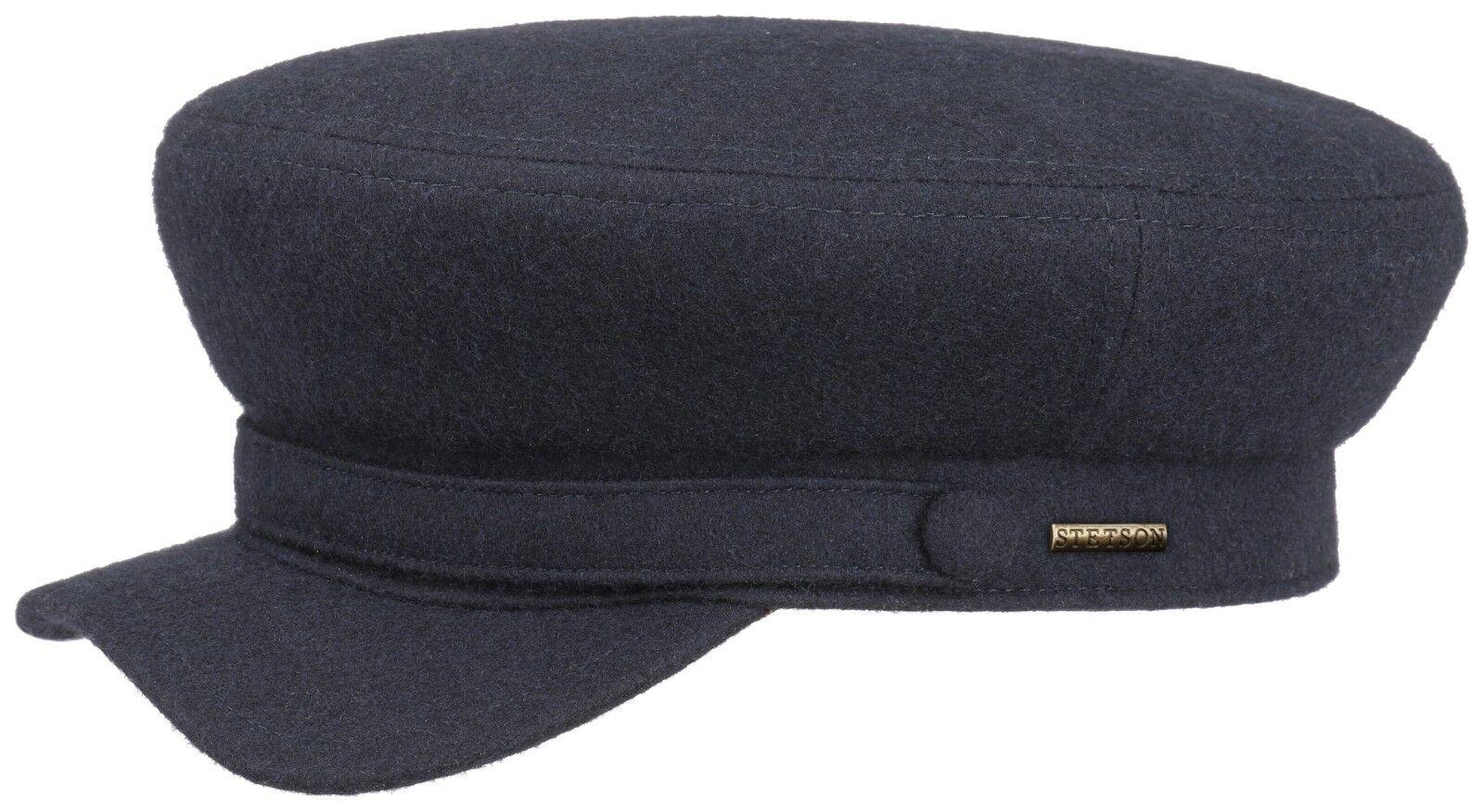 Stetson Elbsegler  Schurwolle Kapitänsmütze Seglermütze  Marine Fischer Mütze Mütze Mütze    Moderne Technologie  59100c