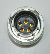 Bendix Mil Spec Circular 5 Pin Connector Part Sa 1077 18 00 6541