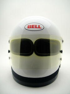 Image Is Loading Vintage BELL STAR XF Dual Eye Opening Racing