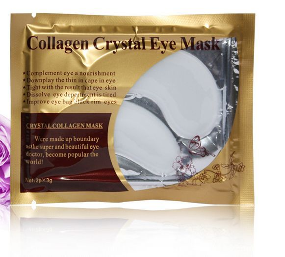 10pcs Collagen Crystal Eye Mask Eyelid Patch Moisture Anti Wrinkle White