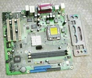 Fujitsu-Siemens-D2140-A11-GS-1-Socket-775-Motherboard-Complete-with-Back-Plate
