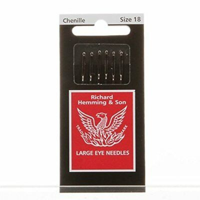 2 Pkgs of 15 Size 9 Cotton Darners Hand Sewing Needles Embroidery Hemming