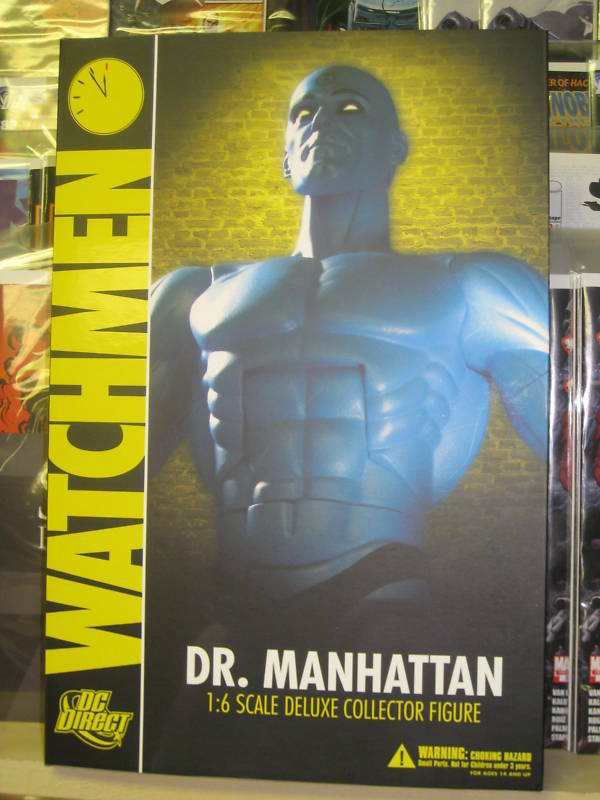 Watchmen Dr Manhattan DC dirigir la escala 1 6 figura