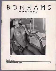 BONHAMS-CHELSEA-CATALOGO-ASTA-EROTIC-ARTS-NOVEMBRE-1989