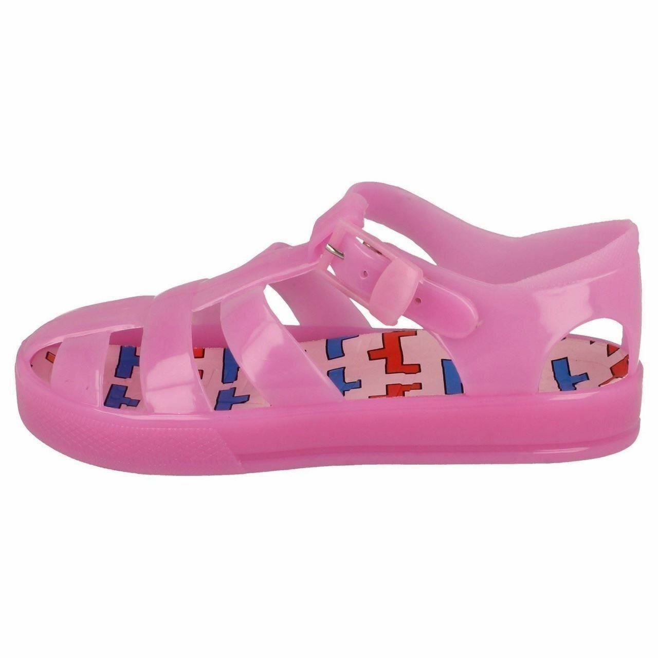 GIRLS SYNTHETIC SPOT ON JELLY SANDALS H0178