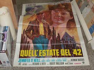 QUELL-039-ESTATE-DEL-039-42-manifesto-2F-originale-1971-JENNIFER-O-039-NEILL
