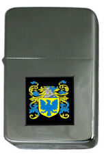 Select Gifts Boyde England Family Crest Surname Coat Of Arms Cufflinks Personalised Case