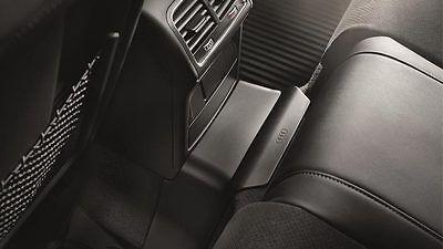 Original Audi A4 8K B8 Tunnel Abdeckung hinten Schwarz Gummimatte - 8K0061580