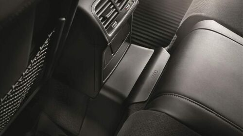 Original Audi A4 8K B8 Tunnel Abdeckung hinten Schwarz Gummimatte 8K0061580