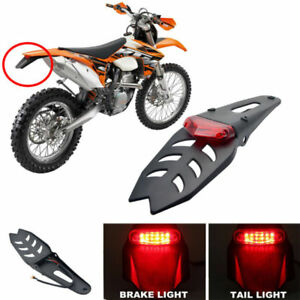 Universal-LED-Rear-Stop-Brake-Tail-Light-Fender-Enduro-For-CRF-KTM-EXC-Yamaha