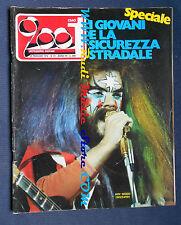rivista CIAO 2001 21/1974 Roy Wood Genesis Nick Drake Bob Dylan Kaleidon Nocd