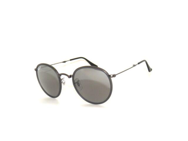 fdb2f4b34998 Ray Ban Sunglasses 3517 029/N8 Matte Gunmetal Mirror Polarized Folding  Rayban