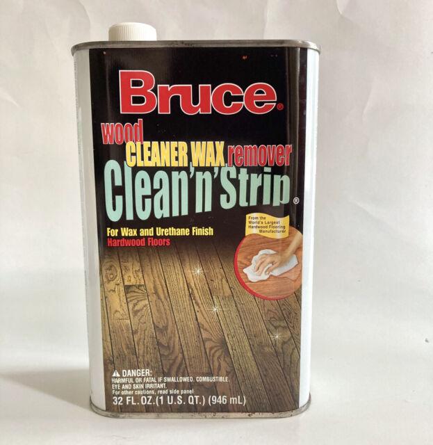 Bruce Clean N Strip Wood Cleaner Wax