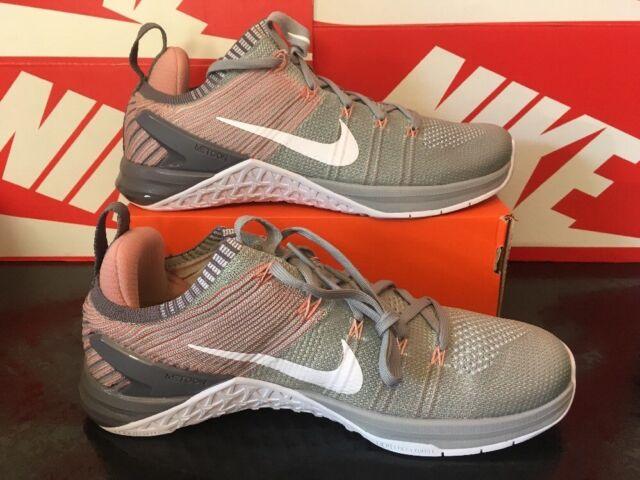 eae4ca3edff83 V25 Womens Nike Metcon DSX Flyknit 2 Silver Pink White Uk 7.5 EUR 42 924595-