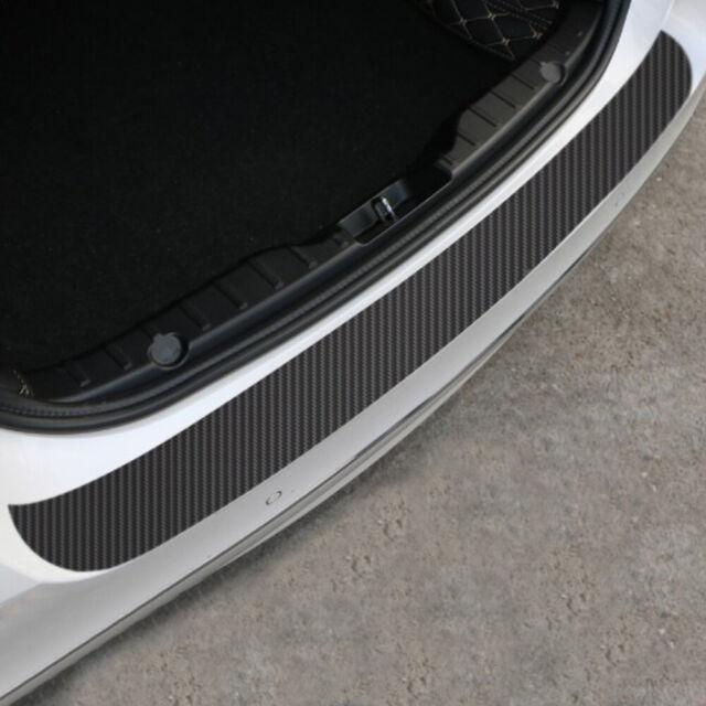 Chrome Auto Front Rear Self-Adhesive Bumper Protector Corner Guard Scratch Sticker Silver