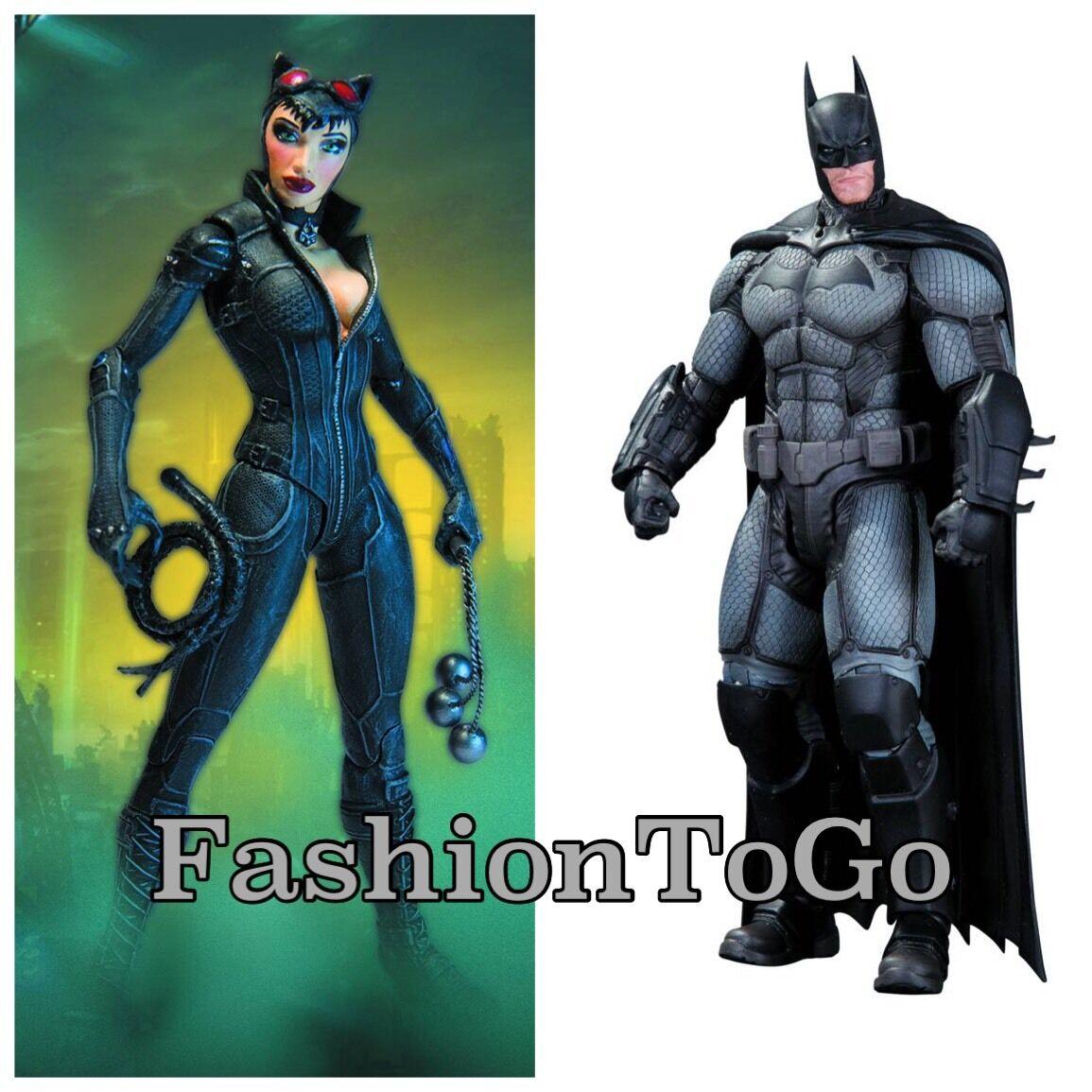 BATuomo Arkham Origins SER 1 BATuomo & SER 2 Catdonna azione cifra azione cifra DC COMICS