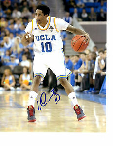 Larry Drew II hand signed autographed 8x10 photo with COA UCLA Bruins UNC Heat!