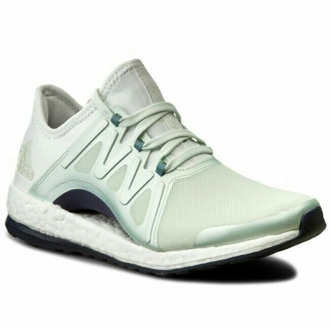 Adidas Pure Boost Xpose Ladies Mint Green Running Trainer shoes BNWT Size 7 UK
