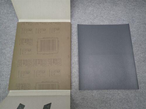 "Grade 240C QTY 50 SHEETS 10699 NEW 3M 431Q Wetordry Abrasive Sheets 9/"" x 11/"""